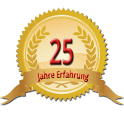 25 Jahre Erfahrung Siegel Roman Dreesbach Kachelofen